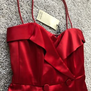 Zara dress red